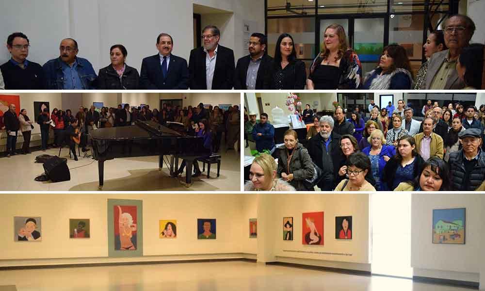 """Gabriel Adame inaugura la exposición """"Retro 30"""" celebrando tres décadas de carrera en la plástica en Tecate"""