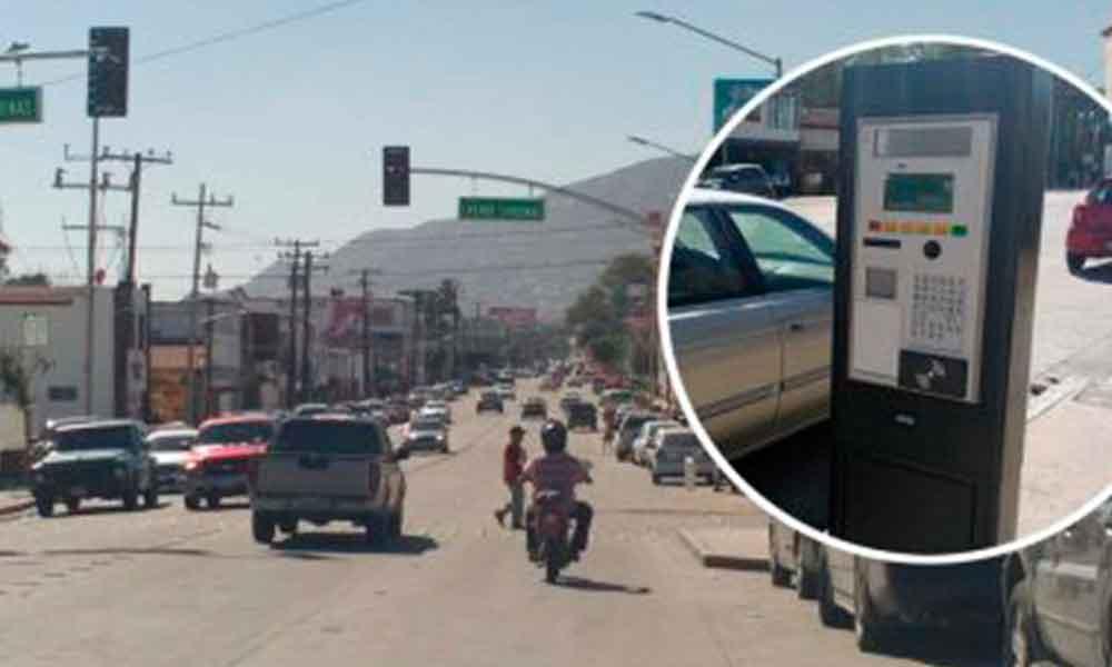 Inicia operación de parquímetros en Tecate