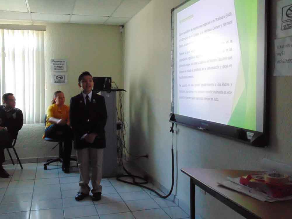 Presenta rendición de cuentas legislador infantil de distrito 07
