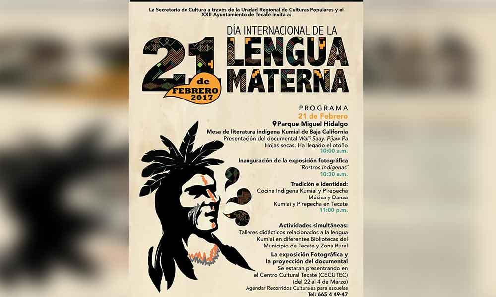 Tecate celebrará el Día Internacional de la Lengua Materna