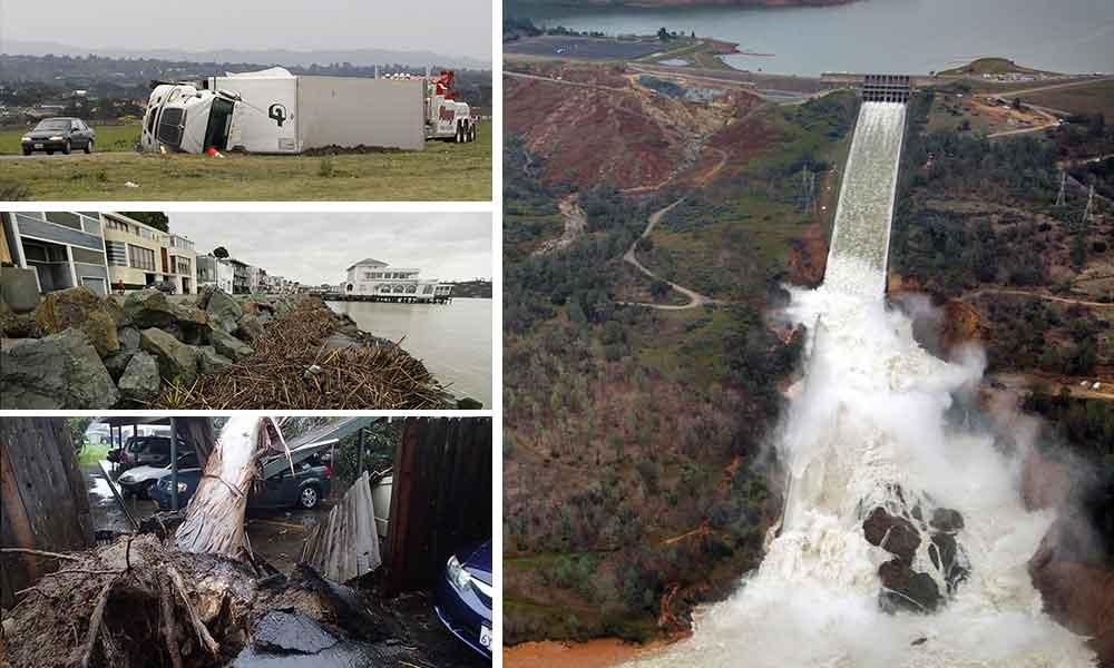 Los Angeles, Santa Barbara y SanDiego se preparan para una de las tormentas más fuertes de los últimos años
