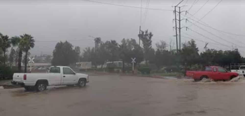 Emite protección Civil de Tecate recomendaciones ante fuertes lluvias
