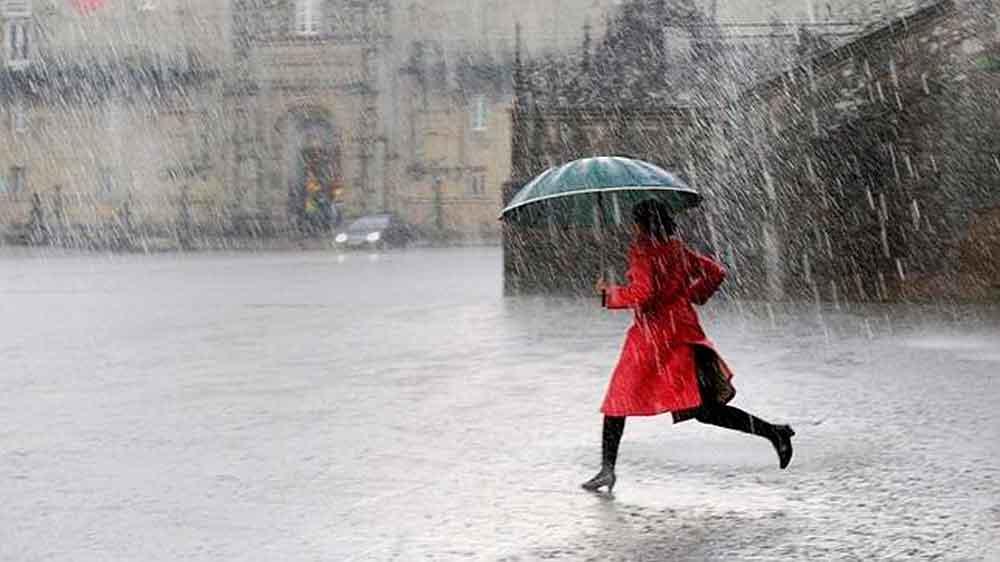 Lluvias llegarán a la región el domingo