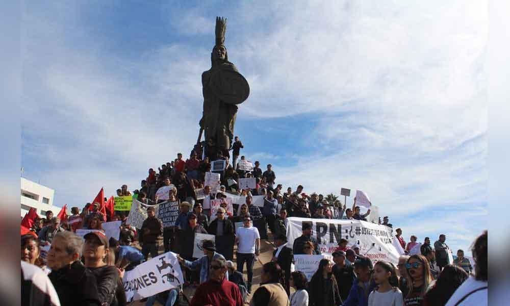 Bajacalifornianos a favor de las manifestaciones: Encuestadora IMERK