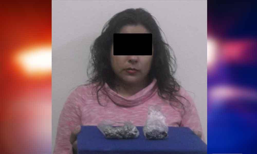 Mujer es detenida por intentar introducir droga a CERESO
