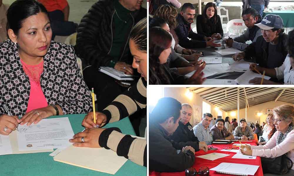 Realiza Gobierno Municipal de Tecate segundo foro de consulta ciudadana en Valle de las Palmas