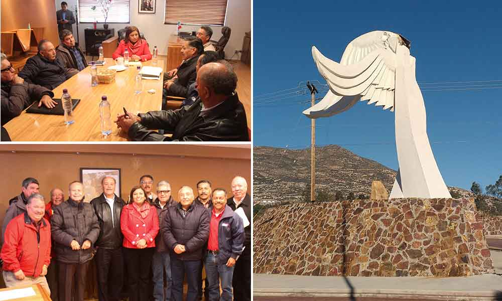 """Alcaldesa y Grupo 21 se reúnen respecto al monumento """"Independencia y Libertad"""""""