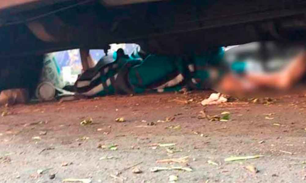Hallan cadáver de niño de 12 años debajo de un camión abandonado