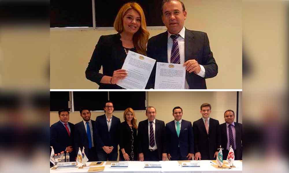 Firma IMJUVET convenio con la Embajada Mundial por la Paz