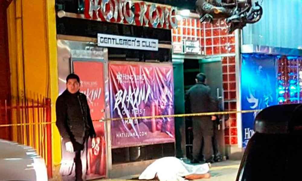 """Muere hombre afuera del """"Hong Kong"""" en Tijuana"""