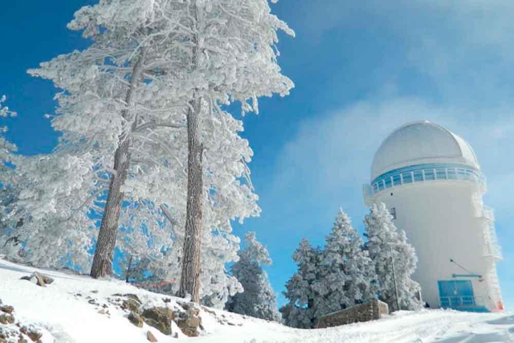 Pronostican nevadas en las zonas montañosas de Baja California