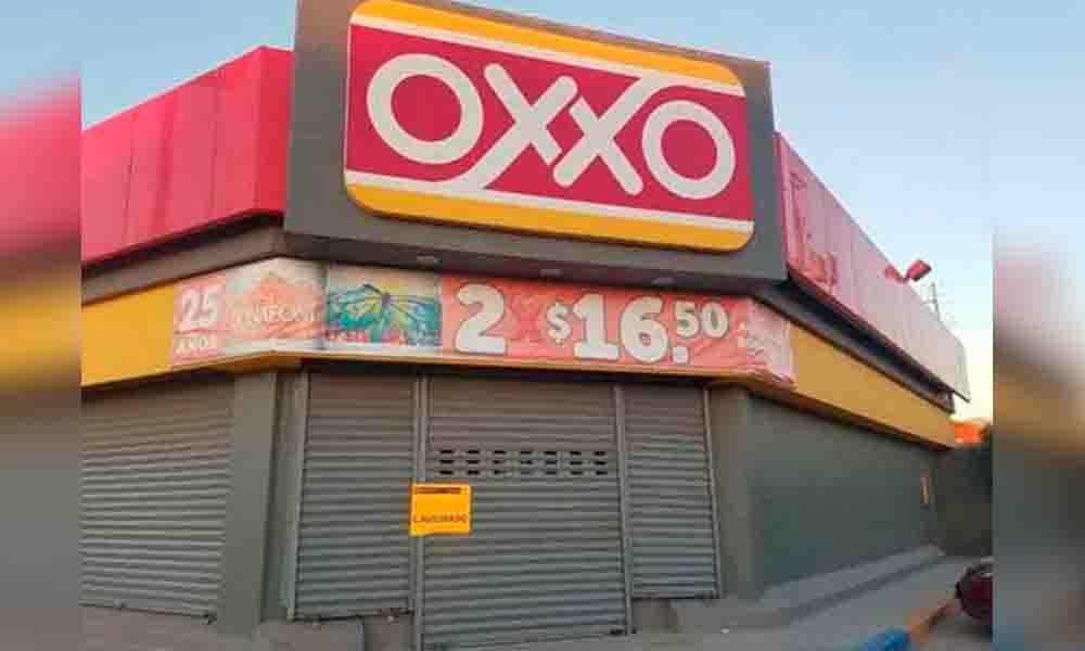 Clausuran 38 tiendas oxxo en Tijuana por vender alcohol sin permiso