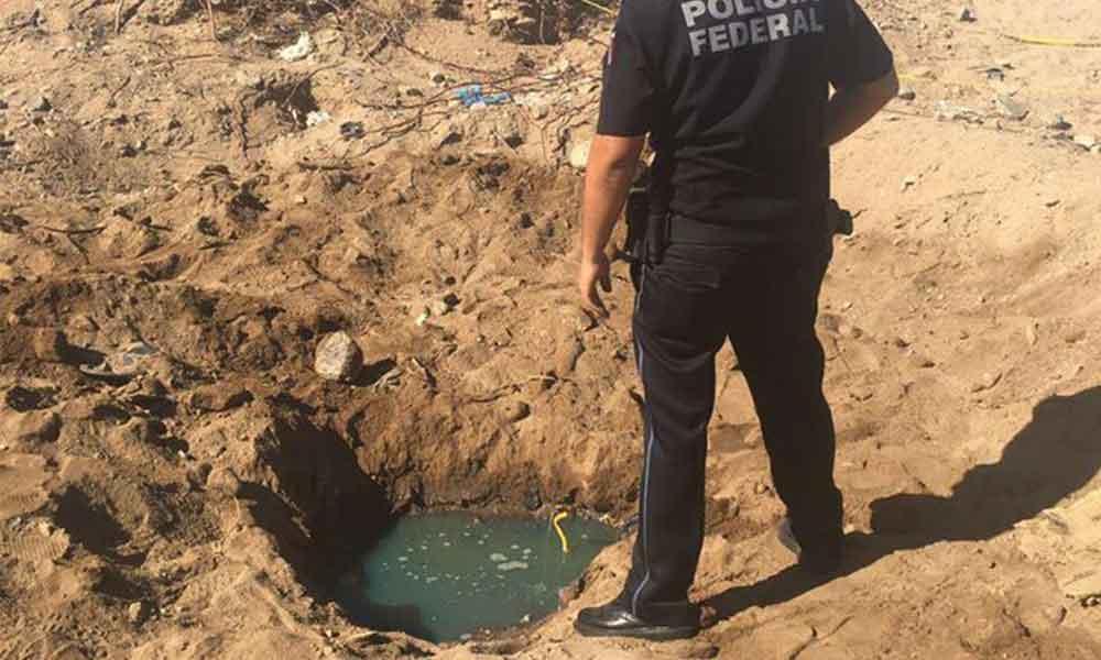 Detectan toma clandestina de pemex en La Rumorosa, en Tecate