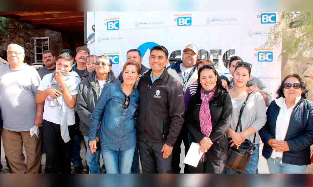 Inaugura CESPTE ampliación de red de agua potable en colonia Sierra Bonita
