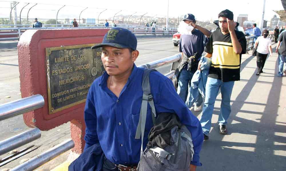 13 mil indocumentados fueron repatriados por Estados Unidos: Migración