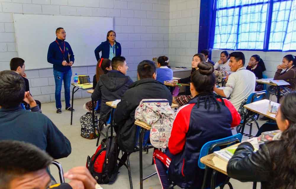 """Promueve Gobierno de BC campaña """"Decido ser Lince"""" en secundarias de la entidad"""