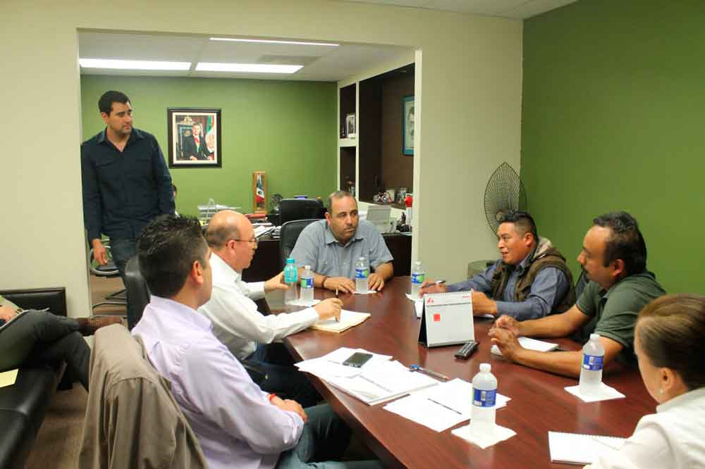 Atiende SEDATU reunión en BC para revisar avance de construcción de casas en comunidades indígenas