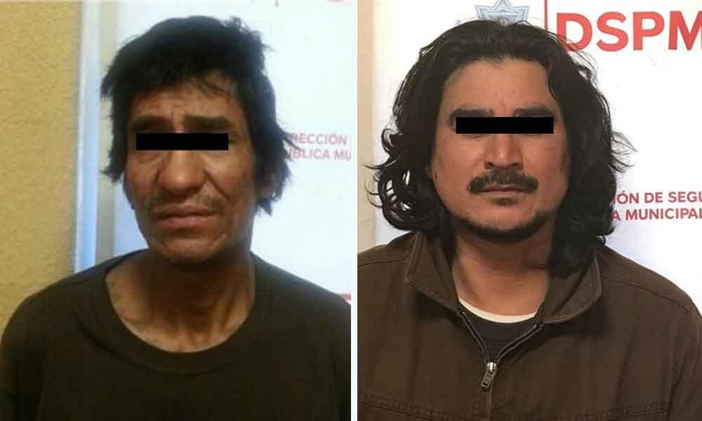 Capturados por delitos de abuso sexual y portación de arma prohibida en Tecate
