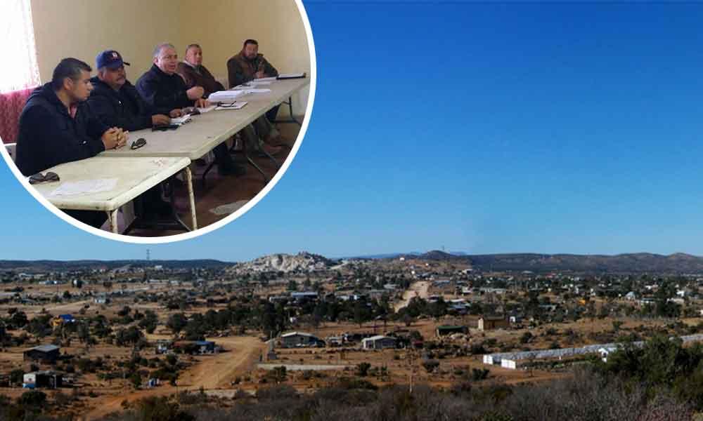Implementarán la policía vecinal y mayor vigilancia en La Rumorosa, en Tecate