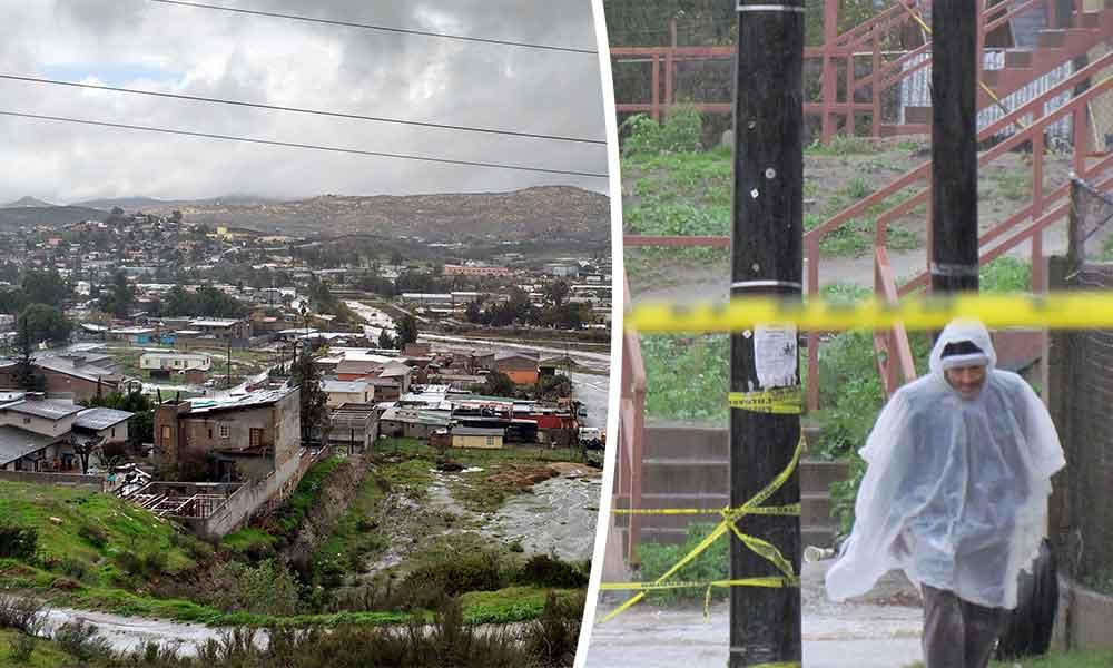 Alertan por posibles inundaciones en Tecate