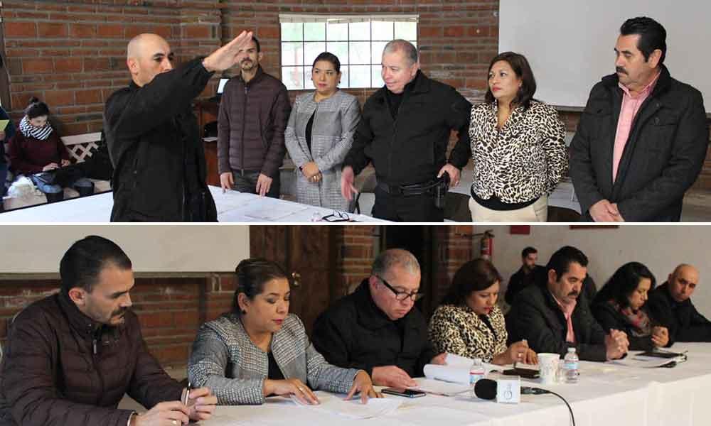 Instalan comisión disciplinaria y carrera policial del Municipio de Tecate