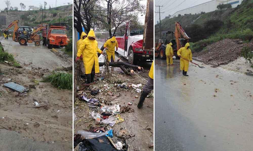 Tijuana se declara en alerta por afectaciones debido a las lluvias