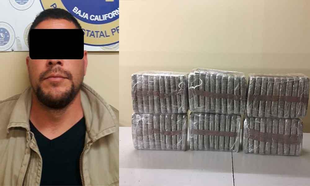 Resguardan domicilio en Tijuana en espera de orden de cateo, Tras decomisar 84 kilos de marihuana