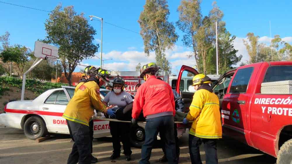 Constante actualización de Bomberos de Tecate para responder a emergencias