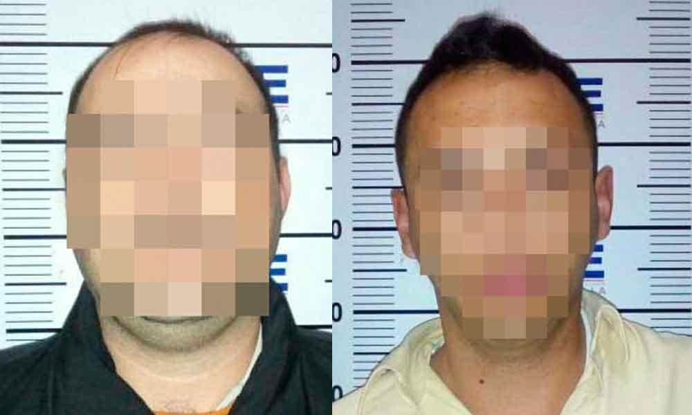 Capturan a dos sujetos por robo y daños a unidad UBER