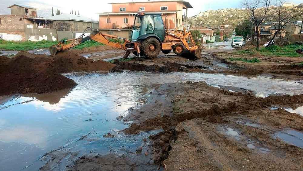Mínima afectación a la infraestructura hídrica durante lluvias: CESPTE
