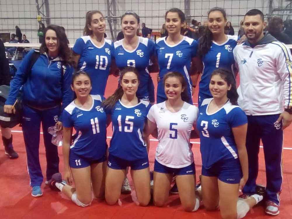 Voleibolistas bajacalifornianas participan en gira por Nevada