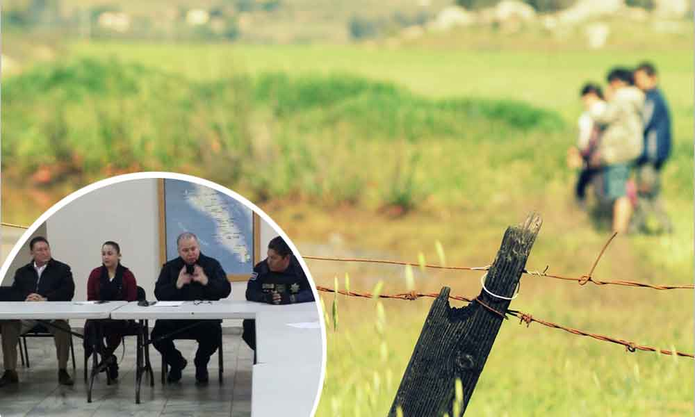 Zona rural de Tecate contará con mayor vigilancia policiaca