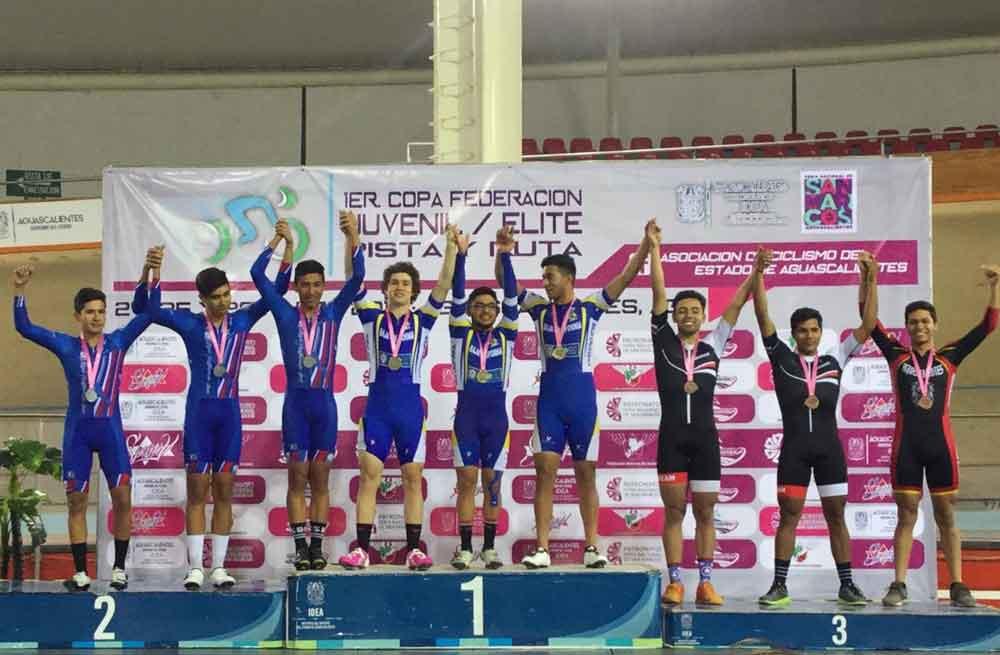 Obtiene BC oro y plata en Copa Federación de Ciclismo