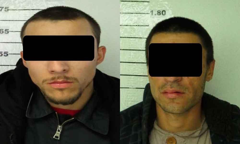 Capturan a dos sujetos a bordo de un vehículo robado en Ensenada