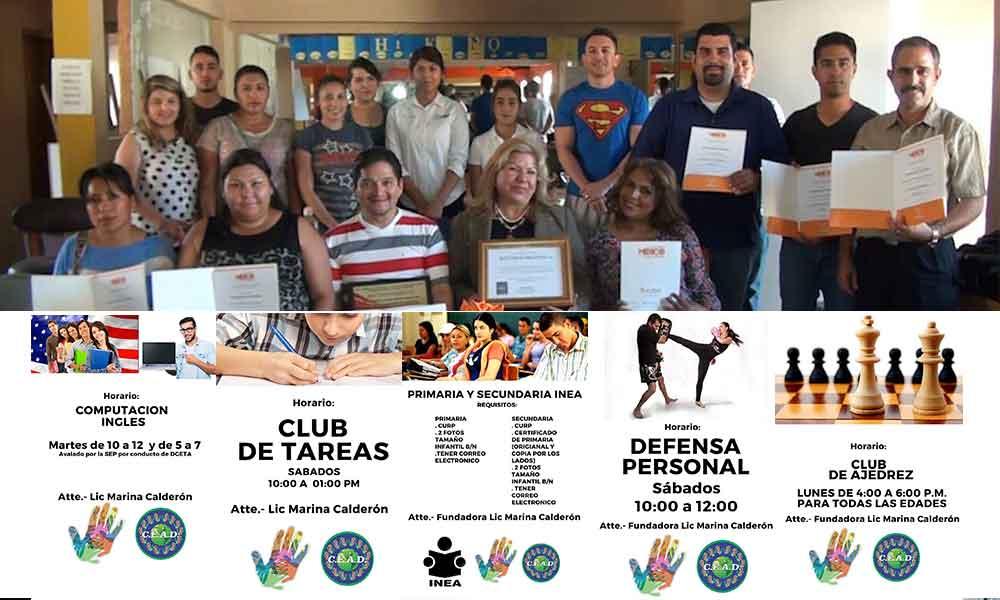Ofrece CEAD una gama de servicios educativos gratuitos para Tecate: Marina Calderón