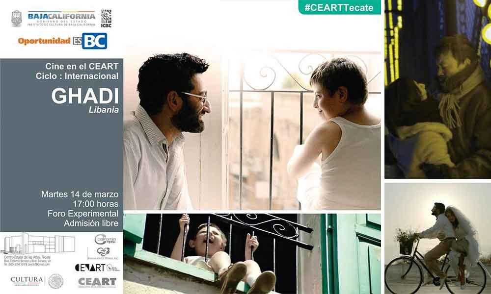 Presentarán la historia de GHADI en cine en el CEART