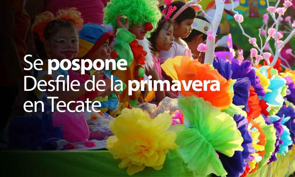 Posponen desfile de primavera por condiciones climatológicas en Tecate