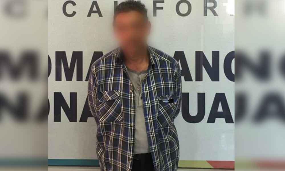 Capturan a sujeto por violación a niña de 6 años