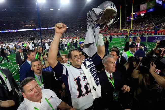 El jersey de Tom Brady apareció en México