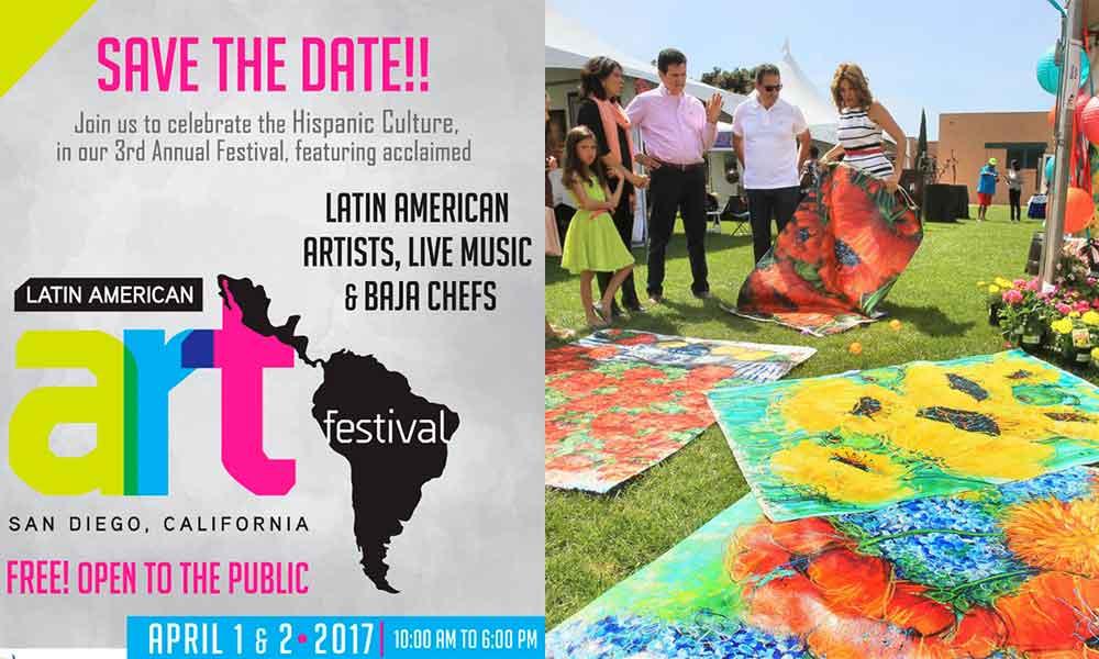 "Invitan al ""Latin American Art Festival"" en San Diego"