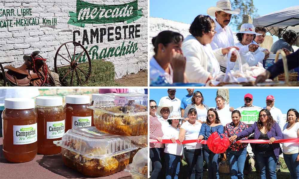 Con gran éxito inicia el Mercado Campestre para impulsar a productores rurales