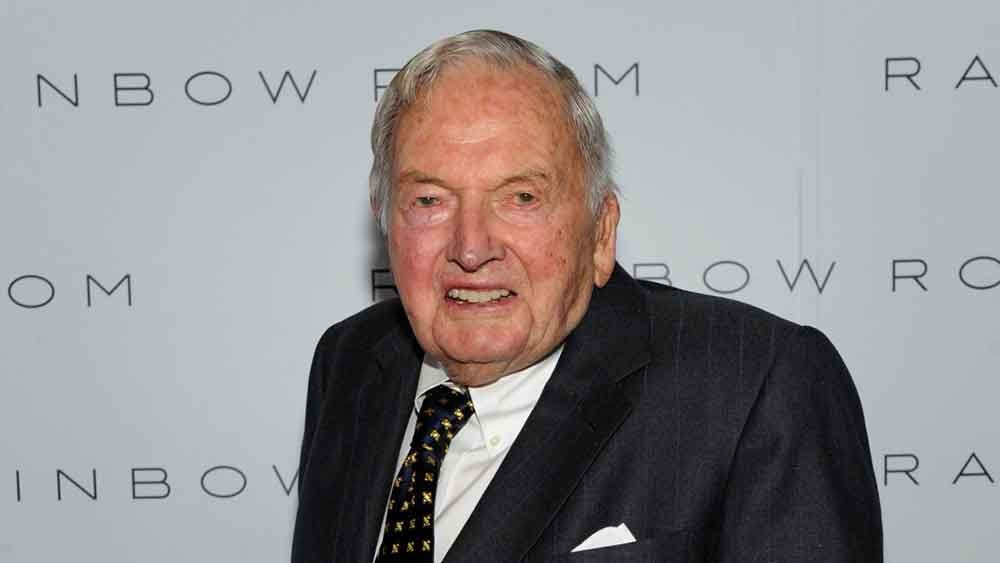 Muere a los 101 años, David Rockefeller, banquero multimillonario y filántropo