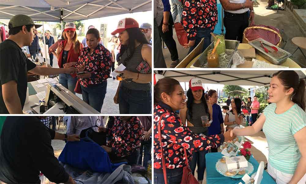 Jóvenes Emprendedores Exponen Sus Productos en el Bazar de Imjuvet en Tecate