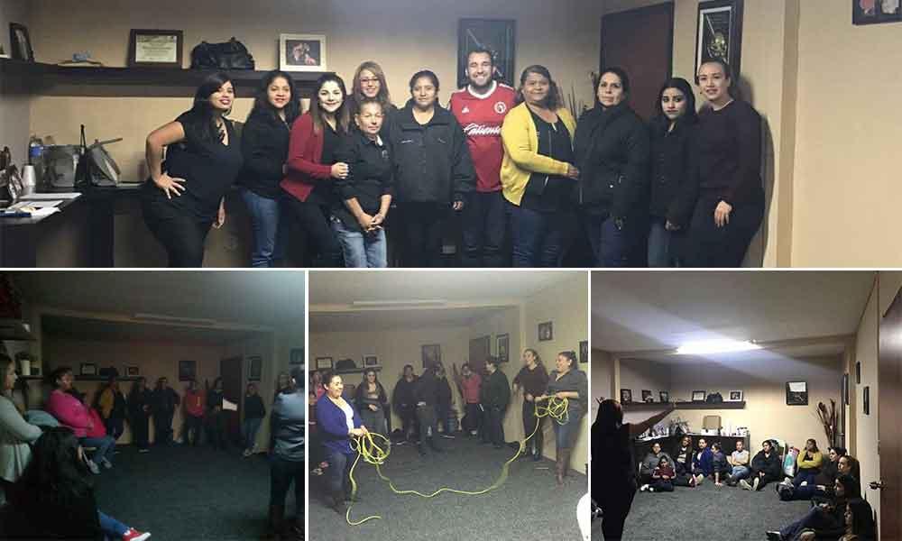 """Realiza la CROC el taller """"liderazgo con perspectiva de género"""" en Tecate"""
