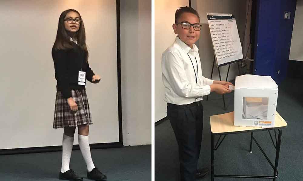 El niño Francisco Gutiérrez de Tecate, competirá para ser el niño Gobernador del Estado 2017