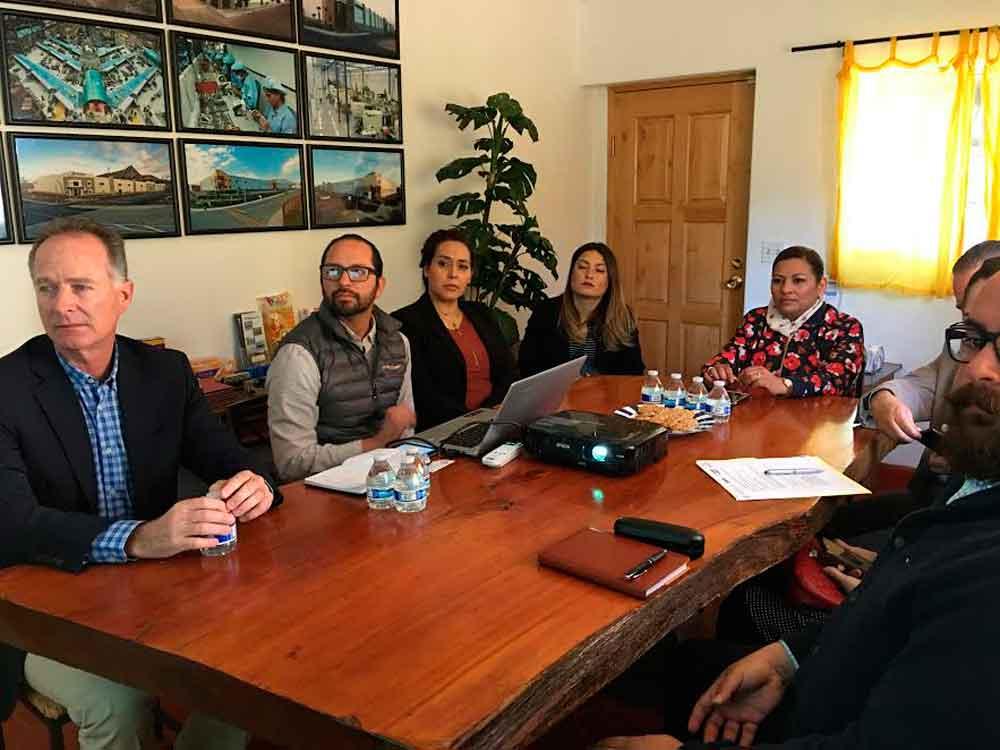 Acuerdan trabajar en conjunto Gobierno municipal y sector económico de Tecate