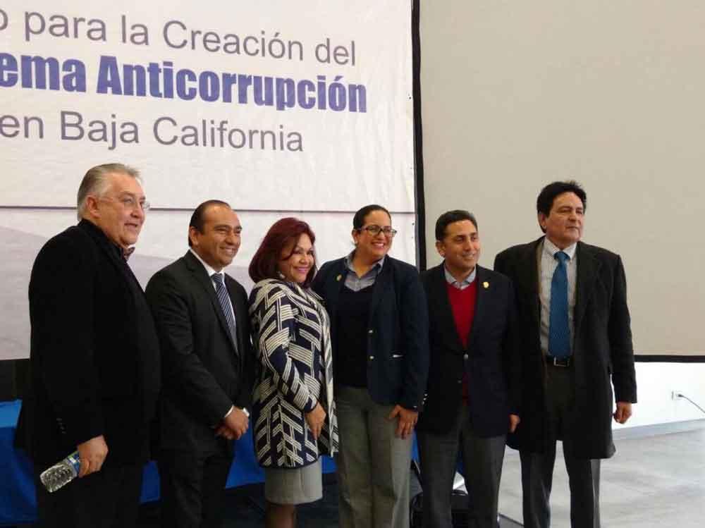 Participa Gobierno de BC en Foro de Consulta Ciudadana para la creación del Sistema Anticorrupción