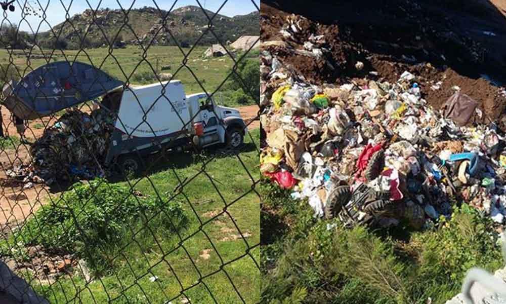 Exigen atender problema de basura en Santa Anita