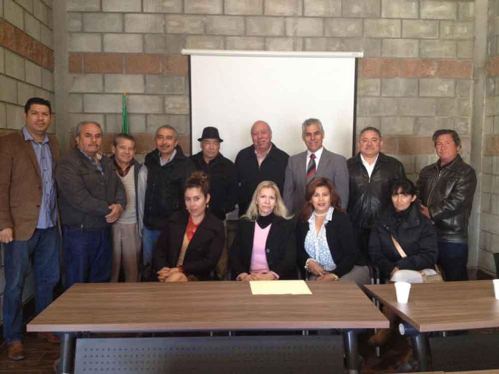 Sostienen reunión de trabajo la Dirección de Administración Urbana y la Asociación de Profesionales Inmobiliarios