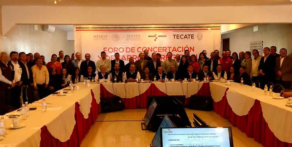 Concertan Proyectos de infraestructura e inversión para Tecate
